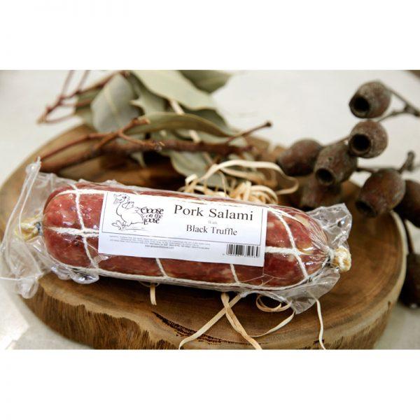 Pork Salami with Black Truffle