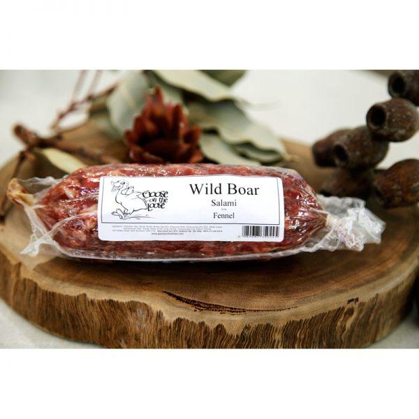 Wild Boar Salami with Fennel