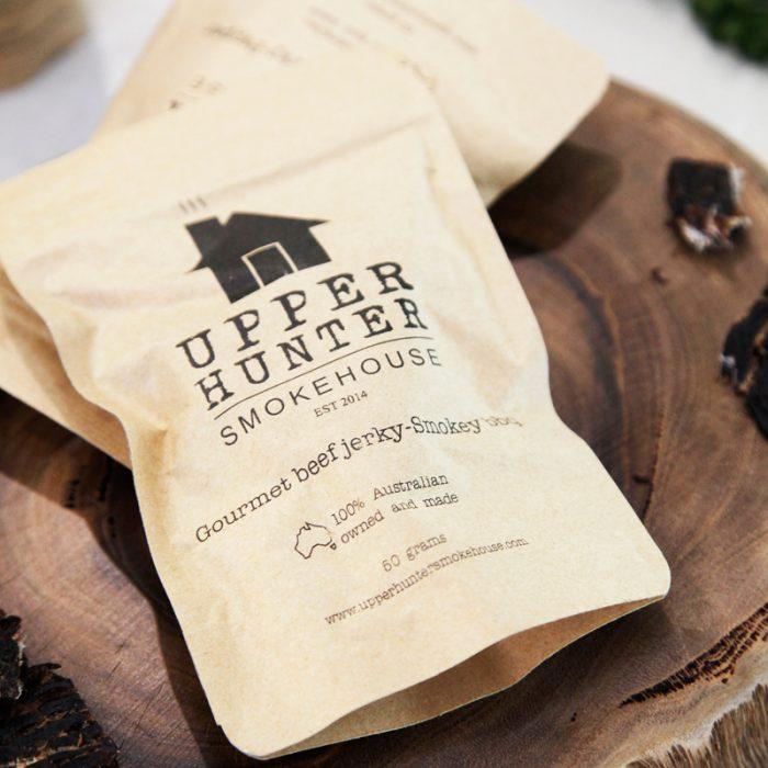 Beef Jerky Smokey BBQ Upper Hunter Steakhouse