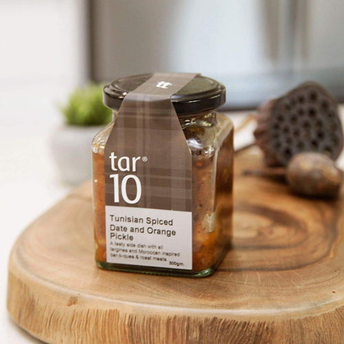 tar10 Tunisian Spiced Date and Orange Pickle