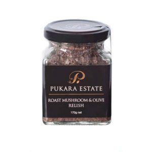 Pukara Estate Roast Mushroom & Olive Relish