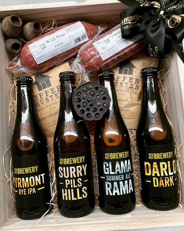 Beer from Hampers of the Hunter