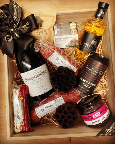 Hampers of the Hunter Wine and Salami