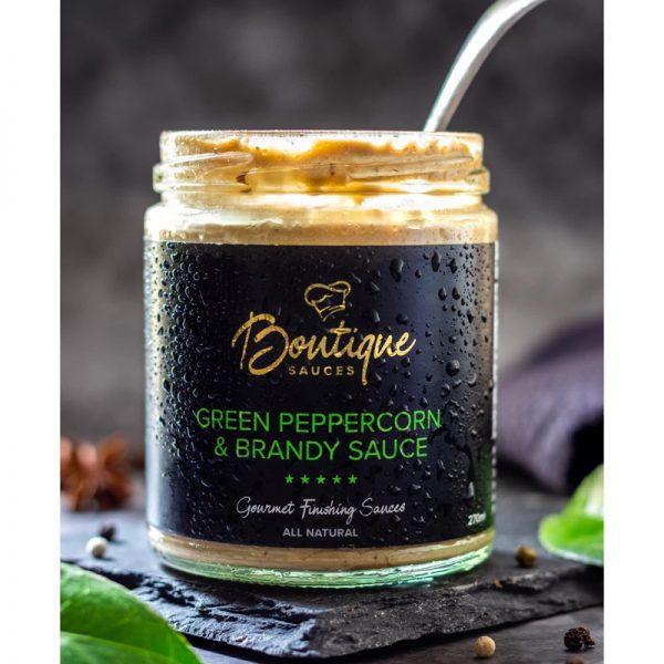 Green Peppercorn & Brandy Sauce