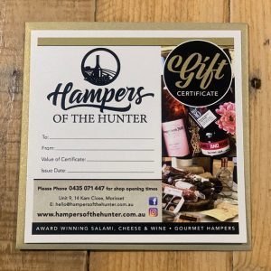 Hampers of the Hunter Gift Certificate