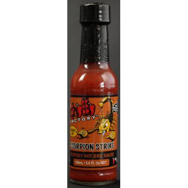 Chilli factory Scorpion_Strike_Stupidly_HOT_BBQ_Sauce