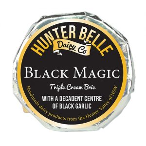 HUnter Belle Cheese Black Magic triple Cream Brie