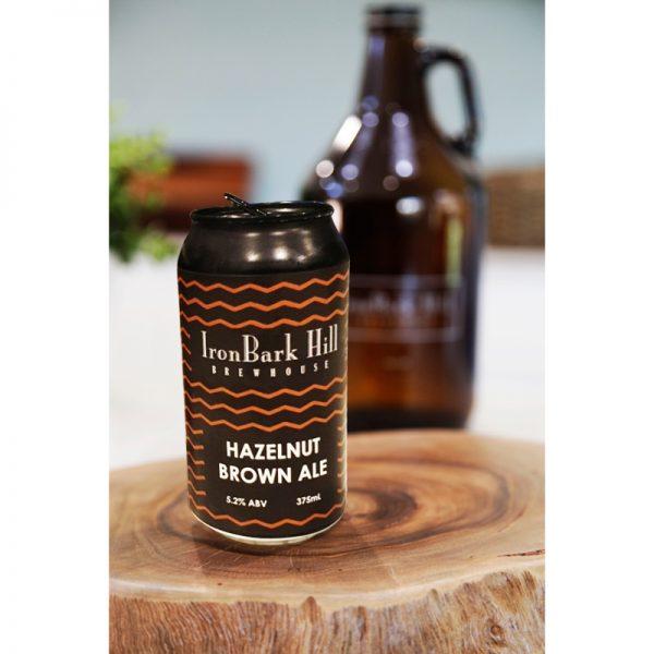 Hazelnut Brown Ale Iron Bark