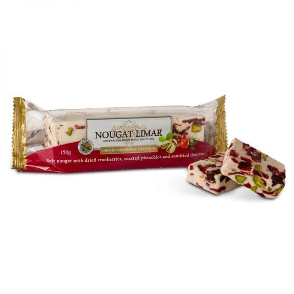 Nougat-Limar-Cherry,-Cranberry-&-Pistachio